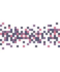 Pixel art style vector background