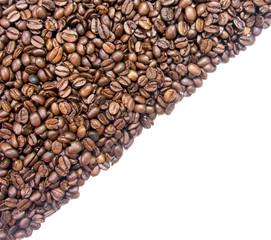 coffee half background diagonal pattern