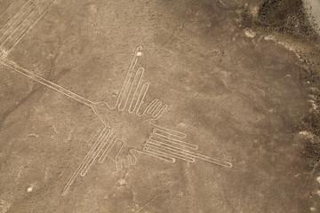 Lines and Geoglyphs of Nazca, Peru - Hummingbird