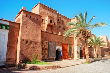 Foto op Aluminium Marokko Taourirt Kasbah in Ouarzazate
