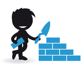 Short People bricklayer
