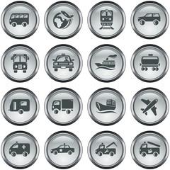 Transportation button set