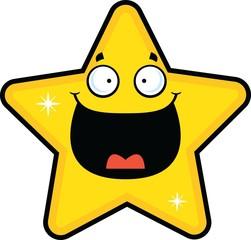 Cartoon Star Happy
