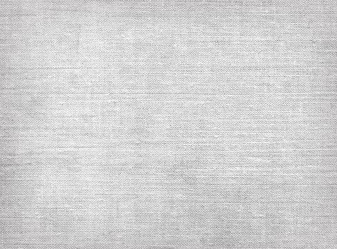 Raw grey linen canvas texture