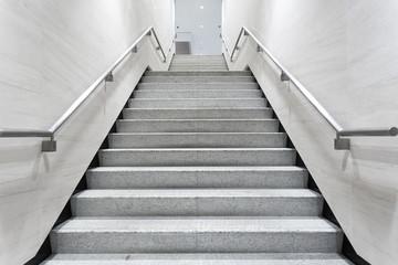 stairs in building corridor Fototapete