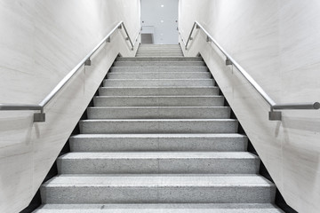 stairs in building corridor