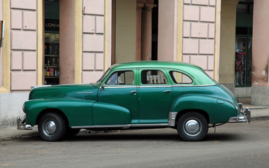 Havana, Cuba Old American Car