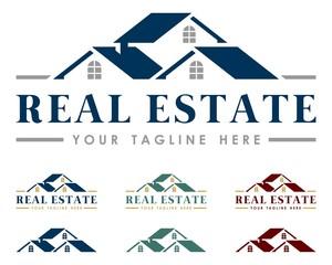 Real Estate Logo Colorful