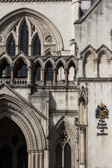The Royal Courts of Justice, London High Court