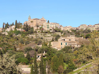 The Town Of Valldemossa, Majorca Island