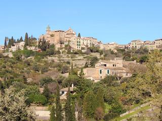 The Town Of Valldemossa, Majorca Island