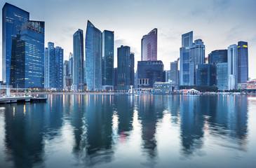 Foto op Canvas Singapore Cityscape Singapore