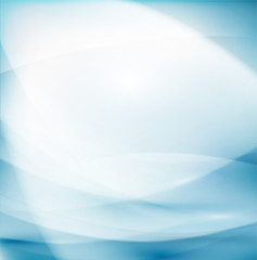 Abstract flow smooth and clean background for science or tech