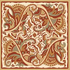 Decorative motif for tiles