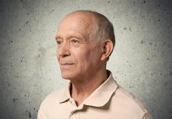 Senior Adult. Portrait of Senior Man