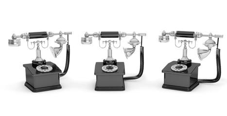 Retro Phone. Vintage Telephones
