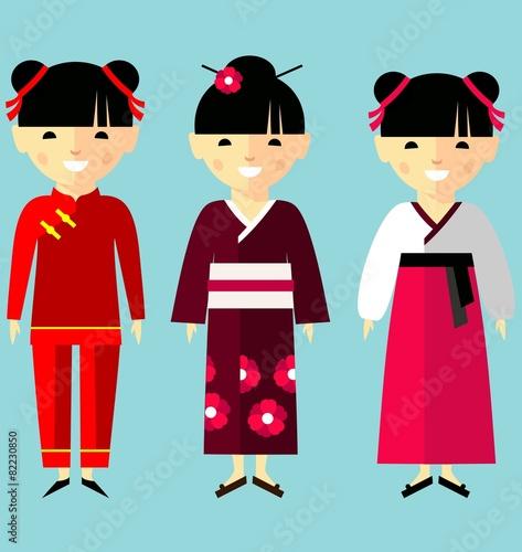 Asian clothing clip art pics 177