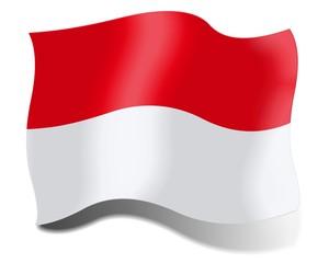 Flag of Indonesia, Monaco