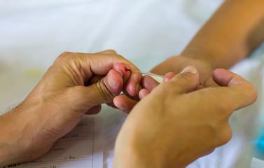 Fingertip Blood