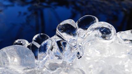 Gefrorenes Wasser