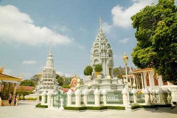Cambodia Royal Palace, stupa