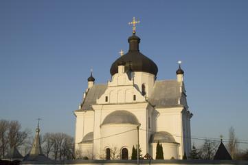 St. Nicholas Orthodox monastery at dawn