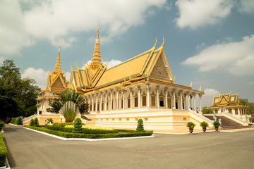 Cambodia Royal Palace, The Throne Hall