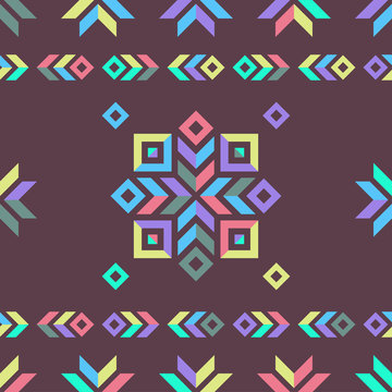 geometric ornamental background. seamless pattern