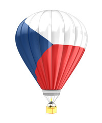 czech flag balloon