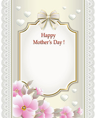 Card on Mother's Day