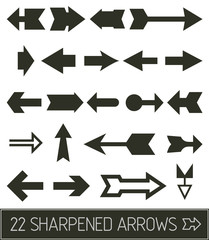 Pointed Arrows collection