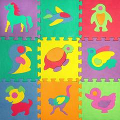 children's puzzles with animals