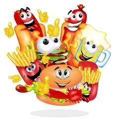 fast food nuovo evento