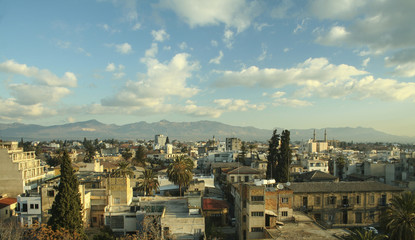 Rooftops of Nicosia Cyprus