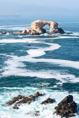 Arch Rock Formation in La Portada National Reserve