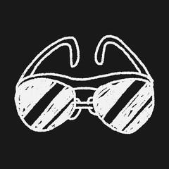 sunglasses doodle