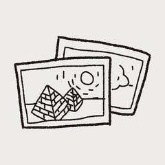 travel pictrue doodle