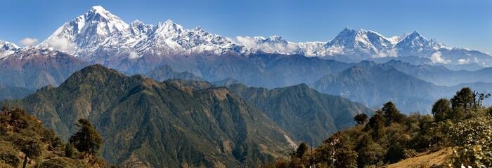 Wall Murals Nepal Dhaulagiri and Annapurna Himal