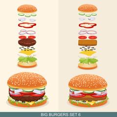 Burger set 6