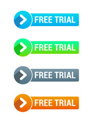 Free Trial Buttons