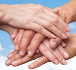 Human Hand. Unity
