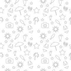 Seamless pattern of travel,holiday
