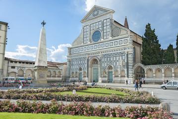 Fototapete - Church of Santa Maria Novella in Florence, Tuscany, Italy.