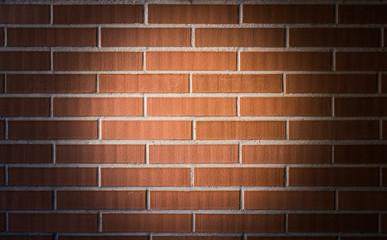 Brick texture with center spot light
