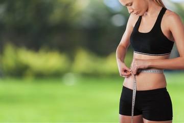 Dieting. Slim waist