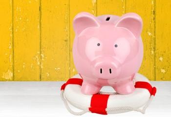 Piggy Bank. Financial Rescue
