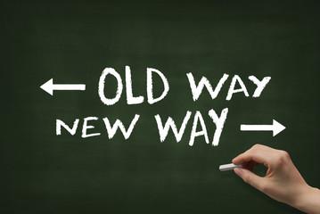 new way, old way 2804