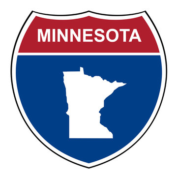Minnesota interstate highway shield