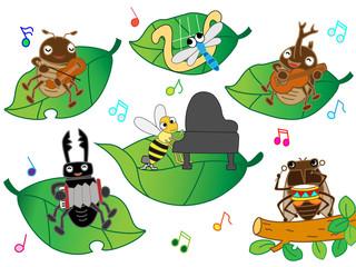 昆虫の演奏会
