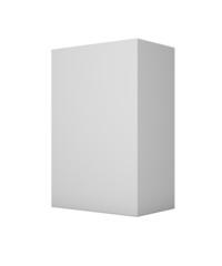Box. 3D. Blank Box